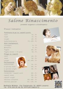 """Salone Parrucchiera Locarno """"Rinascimento"""""""