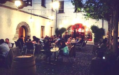 Ristorante Bar Locarno: al Negromante aperitivo nella corte storica della città e musica live sotto le stelle