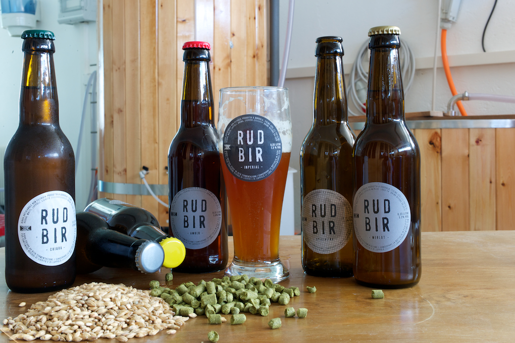 RudBir Birrificio Gordola Luka Ferrara birra